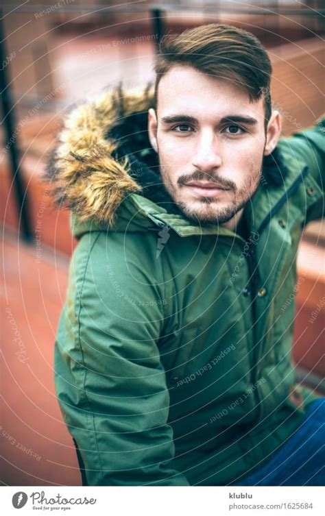 Handsome caucasian young man - a Royalty Free Stock Photo