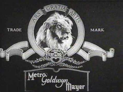 """Early MGM Jackie the Lion """"roars"""" from 1928-9 - YouTube"""