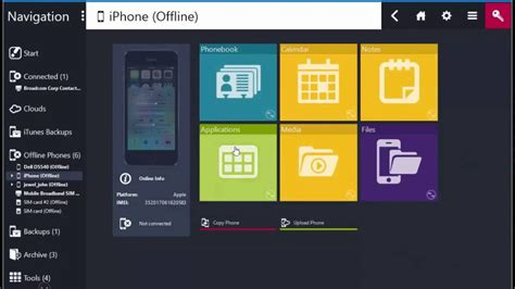 MOBILedit - Android iOS & Nokia All in One Mobile PC Suite
