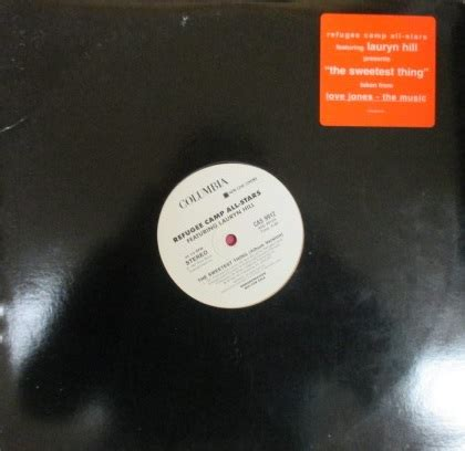 Refugee Camp All Stars ft Lauryn Hill / The Sweetest Thing - US Promo Only!!!